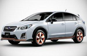 Представлен новый автомобиль Subaru XV Hybrid tS