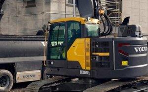 Volvo показал новый экскаватор ECR145E