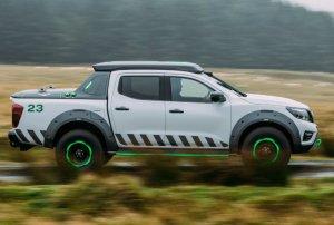 Автомобилестроители увеличили емкость аккумулятора Nissan Navara, и пикап с ...
