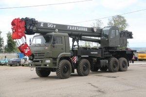 «Газпром-Кран» и Брянский автомобильный завод выпустили внедорожный автомоб ...