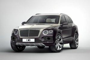 Bentley Bentayga получил тюнинг версию от ателье Mulliner
